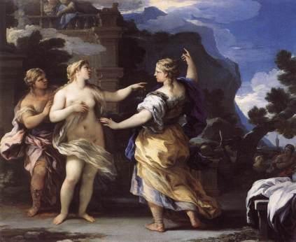 Luca Giordano: Wenus i Psyche