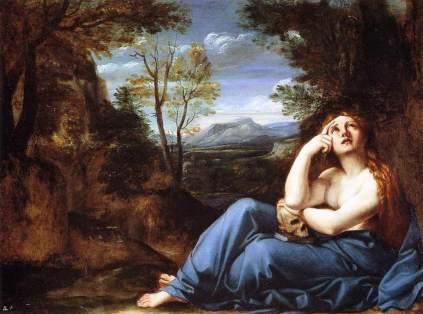 Annibale Carracci: Pokutująca Magdalena