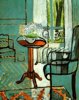 Henri Matisse: Stolik z kwiatami