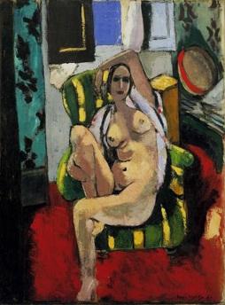 Henri Matisse: Odaliska z tamburynem