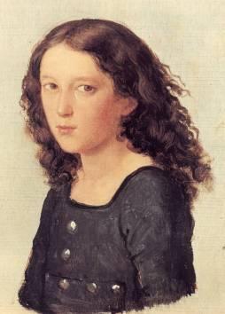 Feliks Mendelssohn w wieku 12 lat