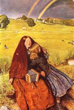 John Everett Millais: Niewidoma dziewczyna