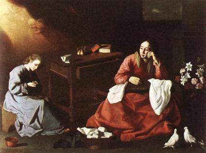Francisco de Zurbarán: Nazaret