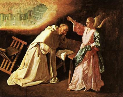Francisco de Zurbarán: Piotr z Nolasco