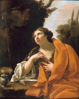 Simon Vouet: Pokutująca Magdalena