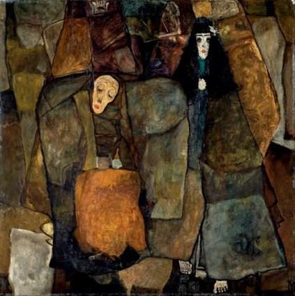 Egon Schiele: Procesja