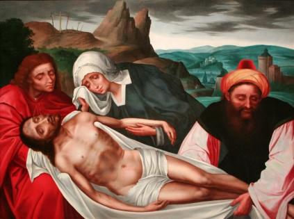 Quentin Massis: Opłakiwanie Chrystusa