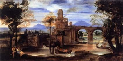 Annibale Carracci: Pejzaż rzymski