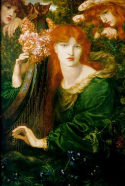 Dante Gabriel Rossetti: La Ghirlandata