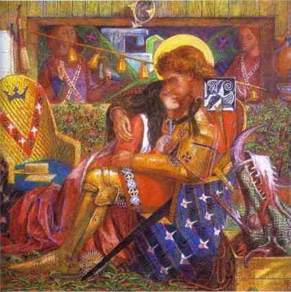 Dante Gabriel Rossetti: Święty Jerzy