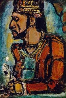 George Rouault, Stary król