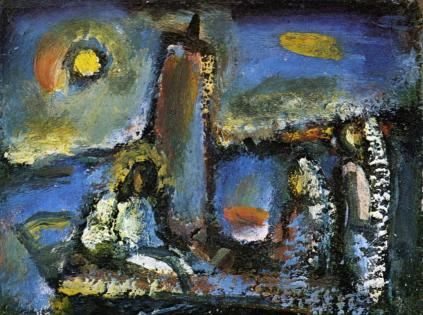 George Rouault: Chrystus na jeziorze