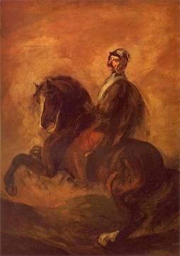 Piotr Michałowski: Rycerz na koniu