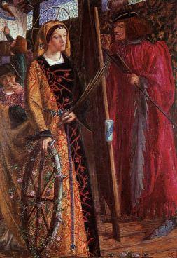 Dante Gabriel Rossetti: Święta Katallina