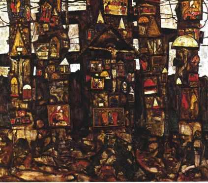 Egon Schiele: Leśna modlitwa