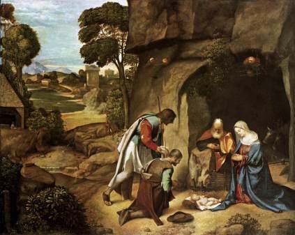 Giorgione: Adoracja pasterzy