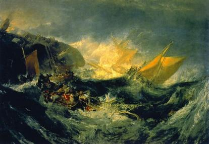 William Turner: Wrak