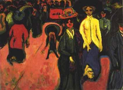 Ernst Ludwig Kirchner: Ulica