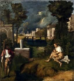 Giorgione: Burza