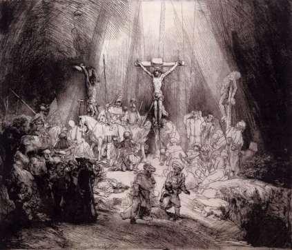 Rembrandt: Trzy krzyże