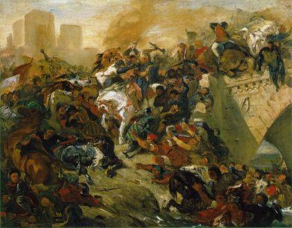 Eugène Delacroix: bitwa pod Tailleburg