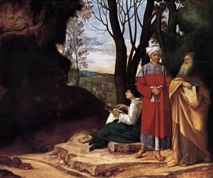 Giorgione: Trzej filozofowie