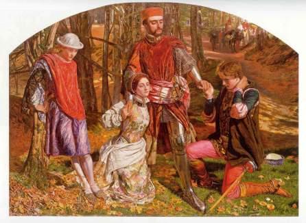Dante Gabriel Rossetti: Walenty i Sylwia