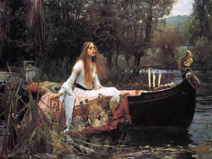 John William Waterhouse: Lady of Shallot