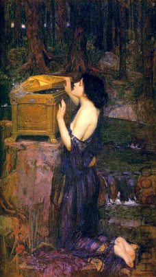 John William Waterhouse: Pandora