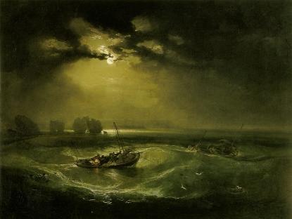 William Turner: Rybacy na morzu
