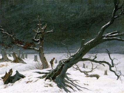 Caspar Dawvid Friedrich: Pejzaż zimowy