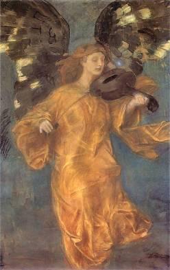 Józef Mehoffer: Złoty anioł