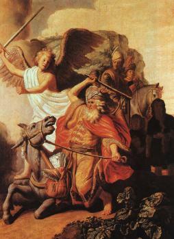 Rembrandt: Baalam na oślicy