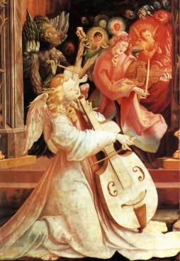 Matthias Grünewald: Koncert anielski