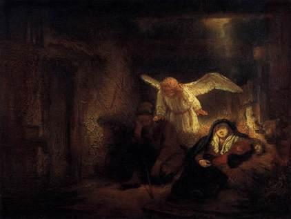 Rembrandt: Sen Józefa