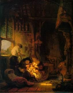 Rembrandt: Rodzina święta
