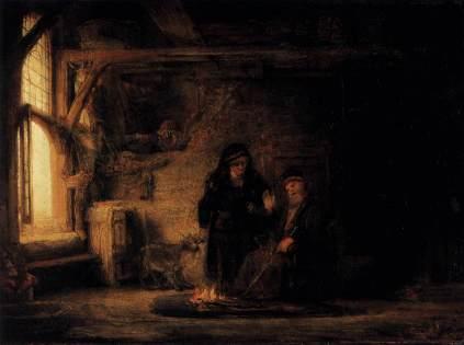 Rembrandt: Tobiasz i Anna