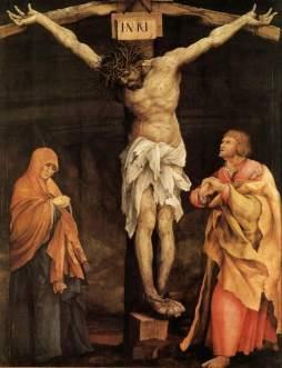 Matthias Grünewald: Chrystus na krzyżu