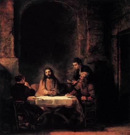Rembrandt: Wieczerza w Emaus