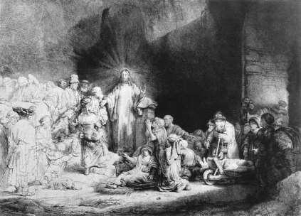 Rembrandt: Chrystus wśród dzieci