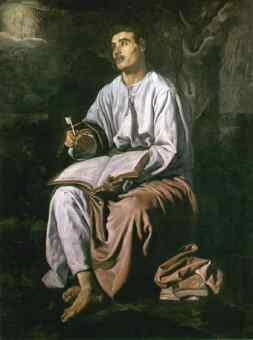 Diego Velasquez: Święty Jan na Patmos