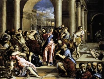 El Greco: Wypędzenie przekupniów ze świątyni
