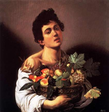 Caravaggio: Chłopiec z koszem owoców