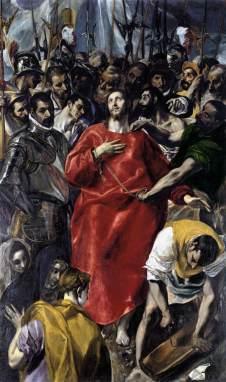 El Greco: Odarcie z szat
