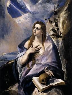 El Greco: Magdalena pokutująca