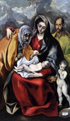 El Greco: Święta Rodzina