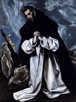 El Greco: Św. Dominik
