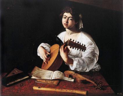 Caravaggio: Lutnista