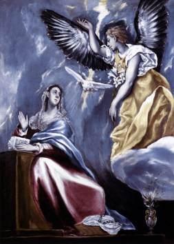 El Greco: Zwiastowanie