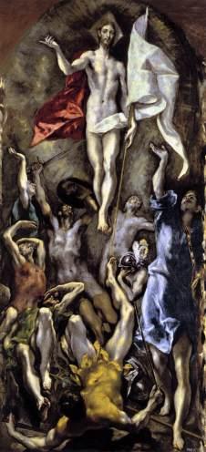 El Greco: Zmartwychwstanie